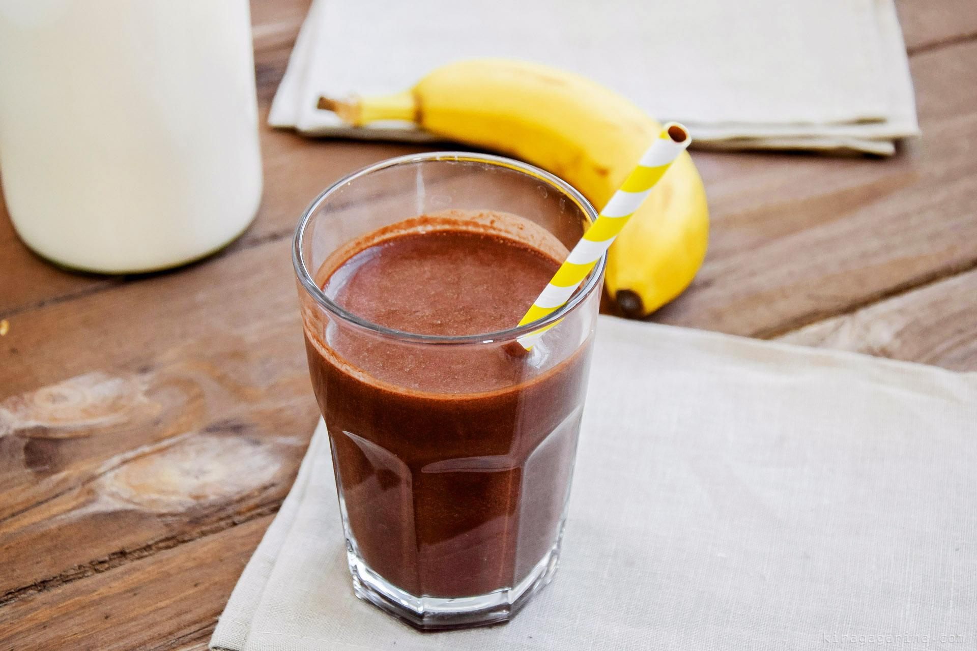 Молочно-шоколадный коктейль, пошаговый рецепт с фото 78