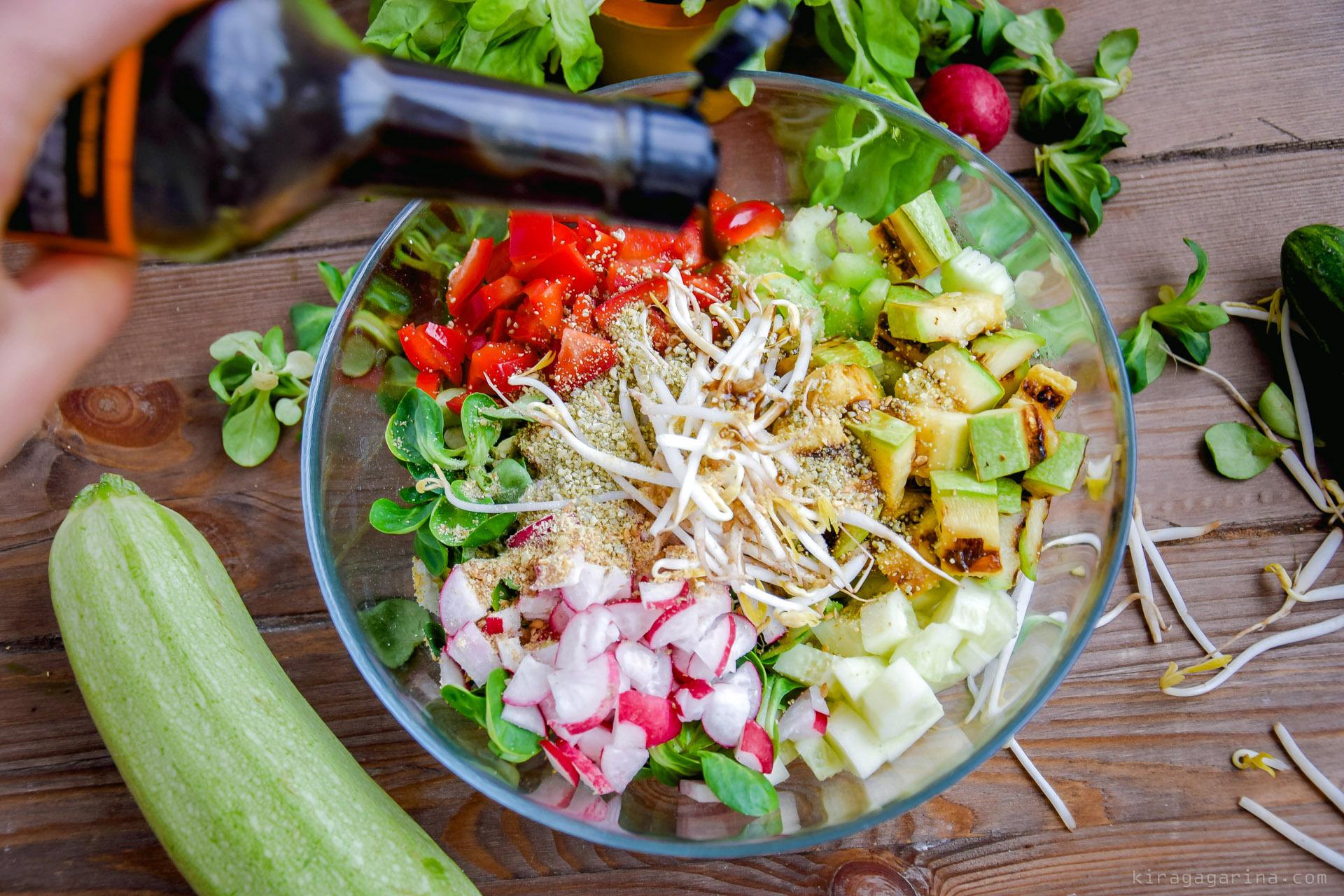 Салат с сельдерея для похудения