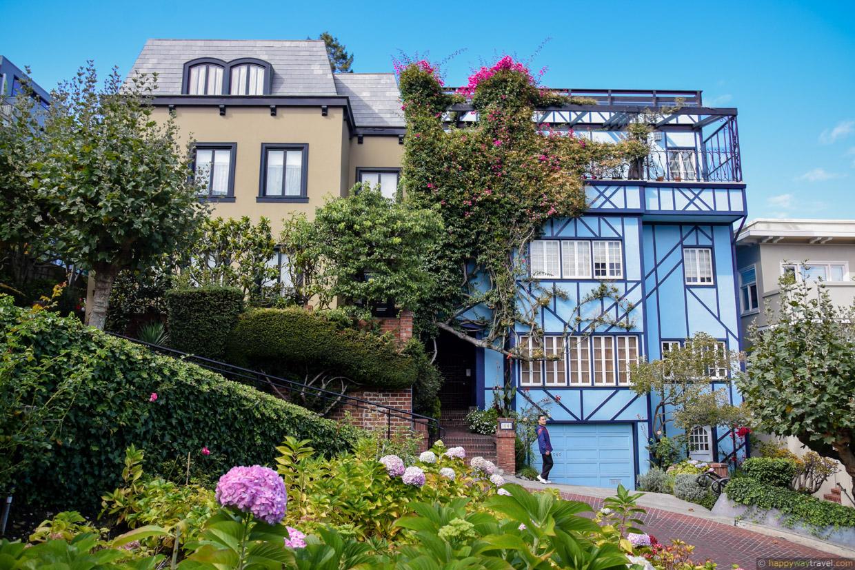 San Francisco, Kalifornien - Sehenswürdigkeiten rund